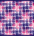 ultraviolet and pink seamless pattern repeating vector image