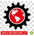 Earth Engineering Eps Icon vector image