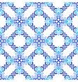 white blue background flourish pattern vector image