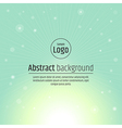 Abstract background light green vector image