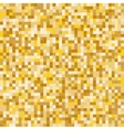 Gold mosaic abstract background vector image
