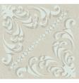 Ornament Vintage pattern vector image