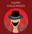 Halloween Creepy Monster vector image vector image