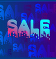 gradient sale background vector image