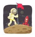 Space Adventurer vector image