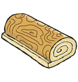 swiss roll vector image