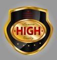 Premium quality product label vector image