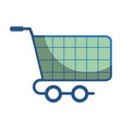 shopping car to website buy icon vector image