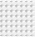 white seamless geometric pattern background vector image