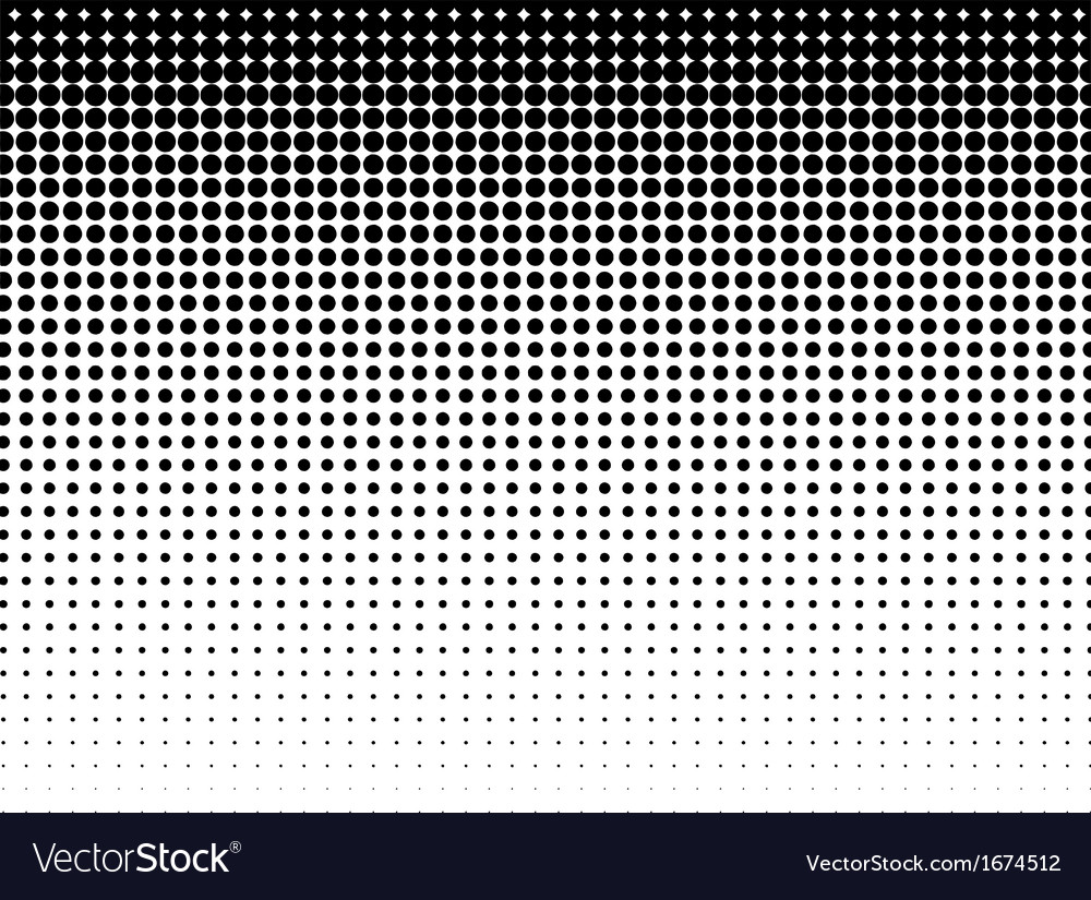 Halftone background blackwhite vector
