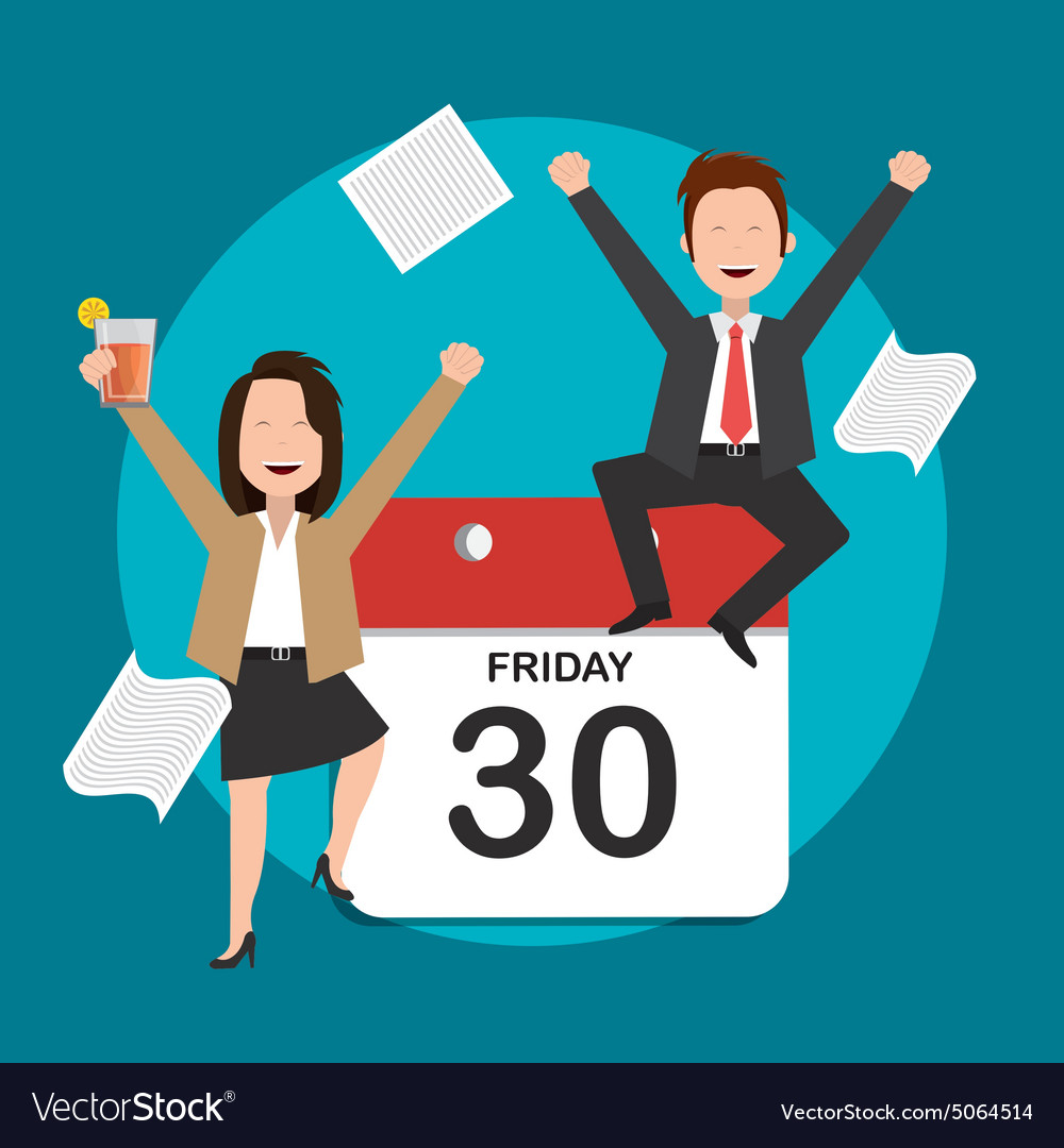 Weekend design vector