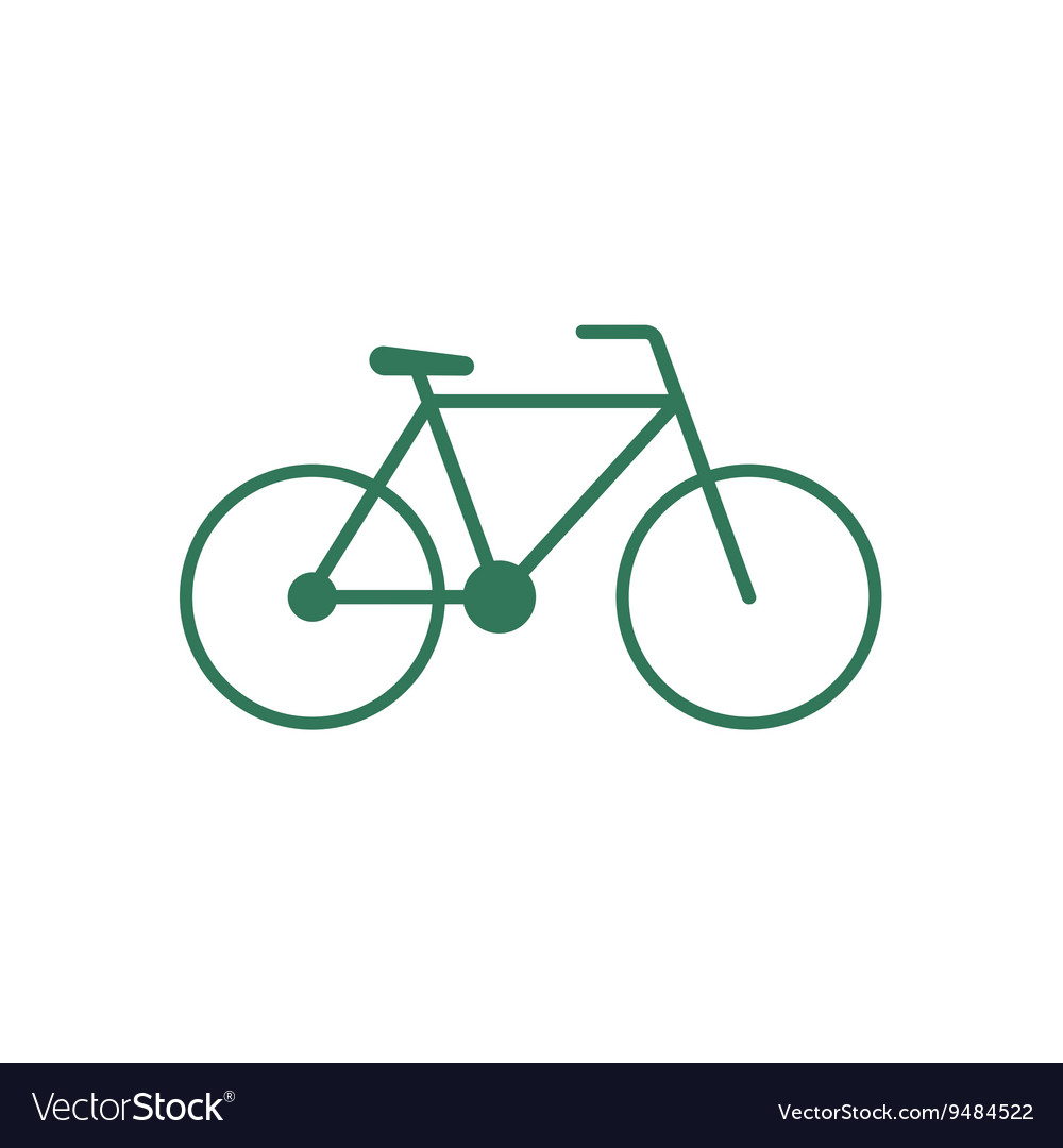 Bicycle bike icon vector