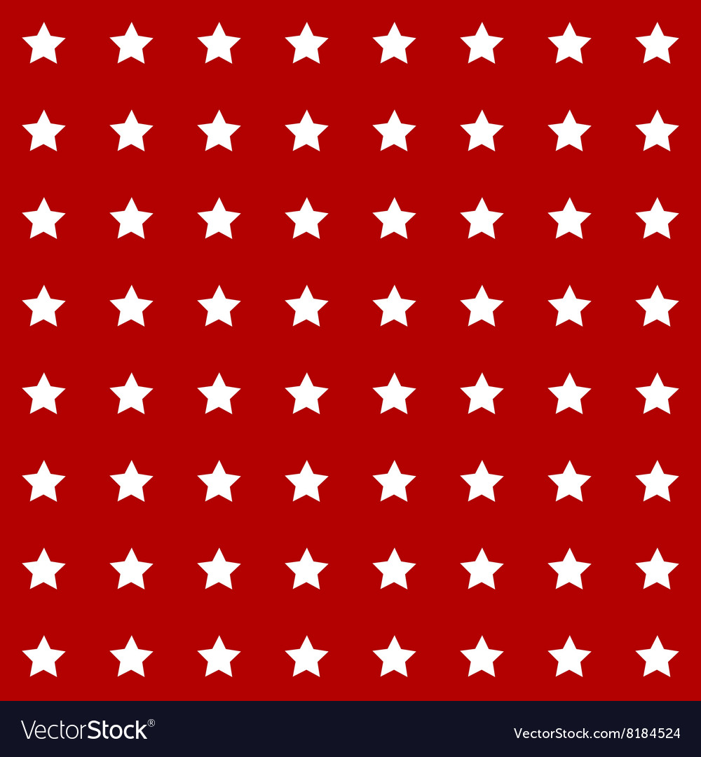 Abstract seamless geometric pattern with stars on vector