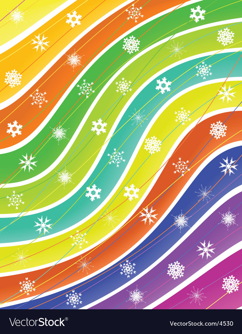 Snow stripes vector