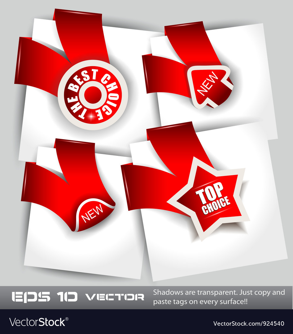 Top choice icons vector