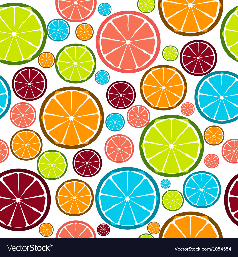 Fruit design seamless pattern eps 10 vector