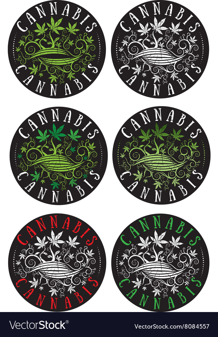 Marijuana design leaf textured stamp vector