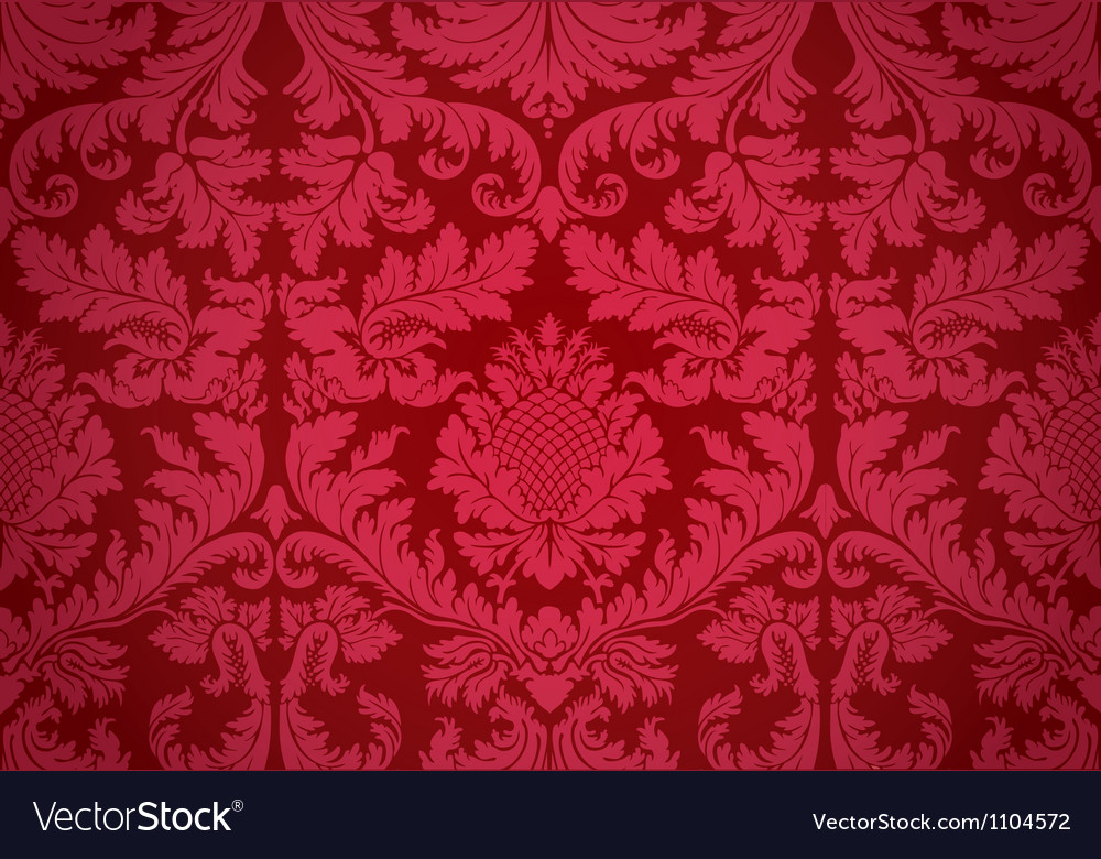 Baroque seamless pattern vector