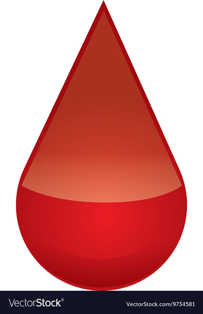 Drop icon blood design graphic vector
