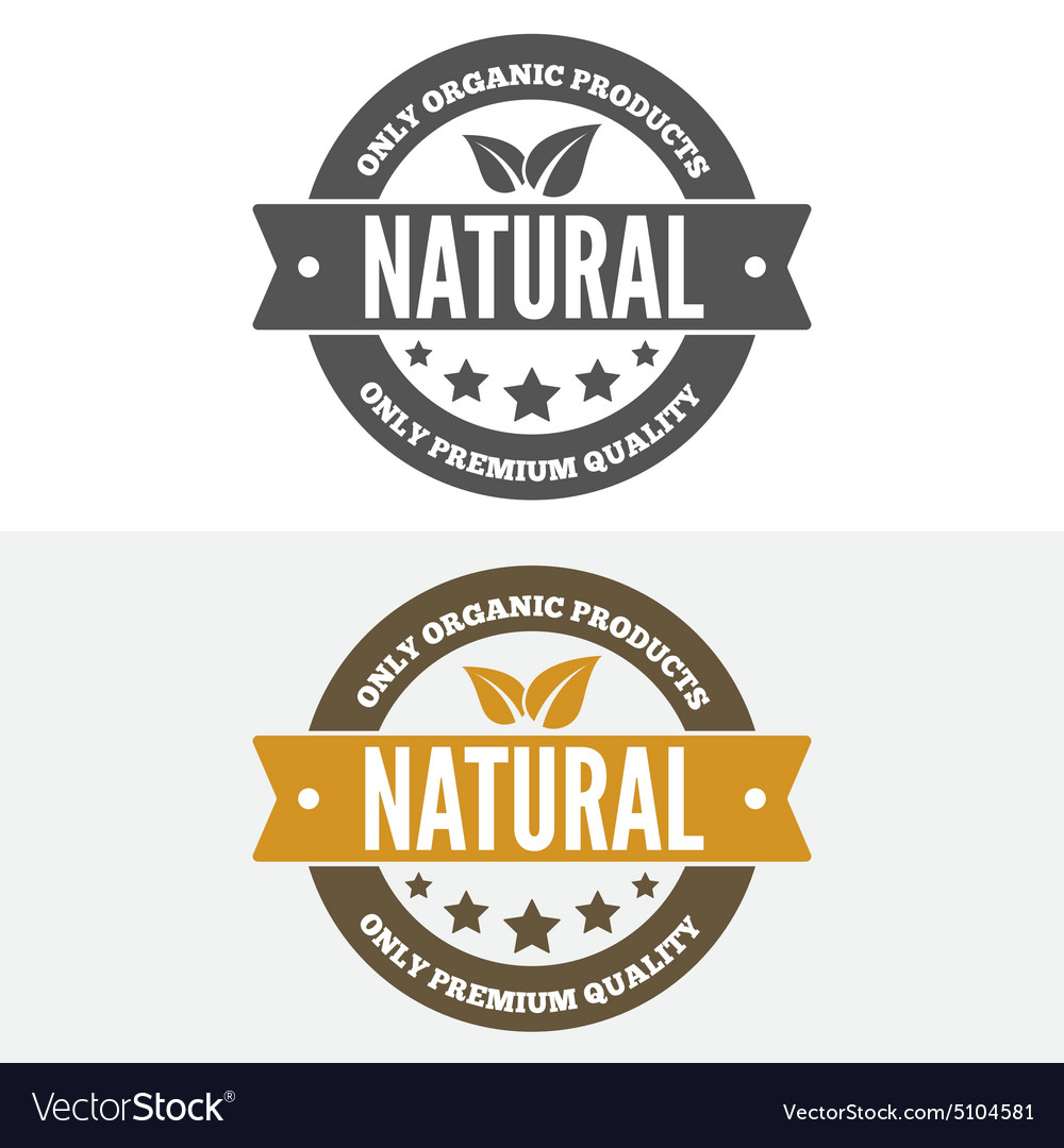 Set of vintage logo label badge logotype vector