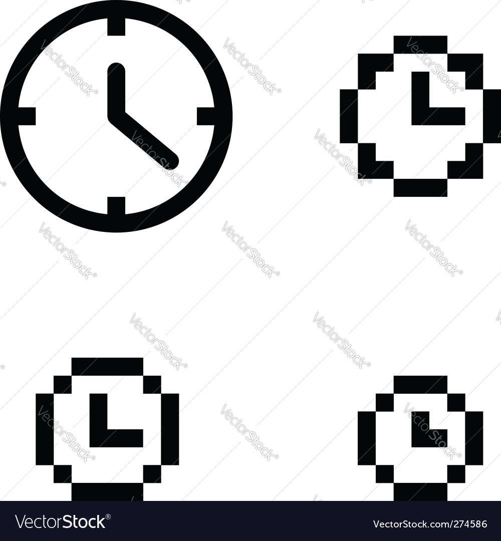 Clock set vector