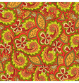 Abstract floral colorful ornate vector image