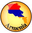 button Armenia vector image vector image
