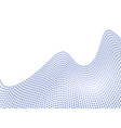 dot wave vector image vector image