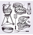 BBQ Party Set vector image