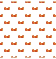 Butterfly tie pattern cartoon style vector image