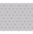 Vintage stylized ornament pattern vector image