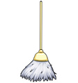 Cleaning broom vector image