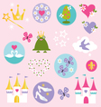 princess clipart vector image