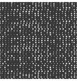 Polka dot Geometric monochrome abstract hipster vector image
