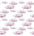 seamless pattern cloud art background design for vector image