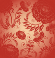 Red pattern vector image