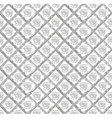 Gray grunge pattern with circles and rhombuses vector image