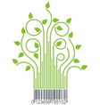 bar branch green vector image vector image