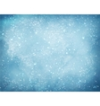 Christmas background with falling snow vector image