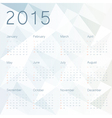 abstract background with calendar 2015 vector image