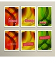 Abstract bright colors brown yellow and green vector image