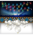 Abstract celebration background with Christmas vector image