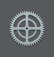 modern mechanism background design vector image