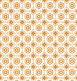 seamless pattern retro vector image