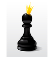 Chess piece Pawn vector image