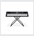 Keyboard instrument vector image