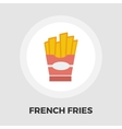 French fries flat icon vector image vector image