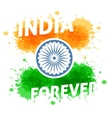 India independence day 15th of august vector image