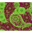 India ornament paisley and mehndi designs vector image