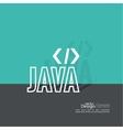 Progrmming code vector image